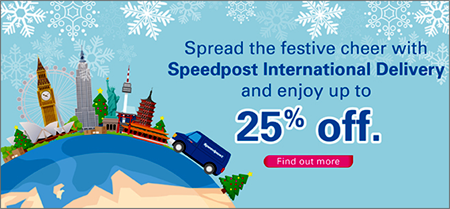 Singapore Post - spread the festive cheer