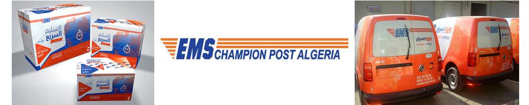 New branding for EMS Champion Post Algeria