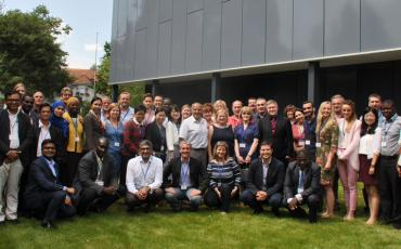 Participants at the EMS performance reports training - Berne, Switzerland
