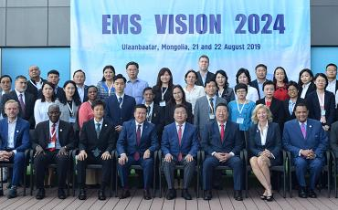Asia Pacific EMS symposium, Mongolia, August 2019