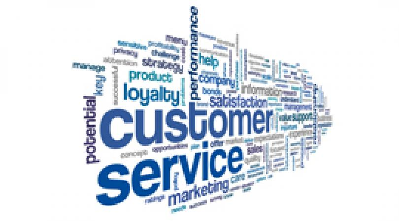 Customer service word matrix