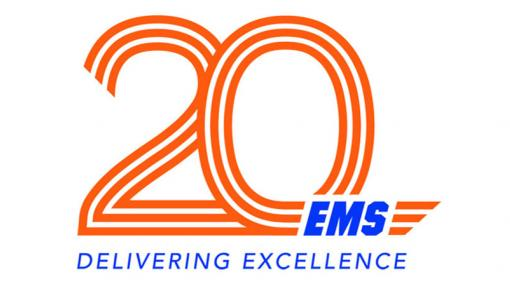 EMS Cooperative 20th Anniversary logo