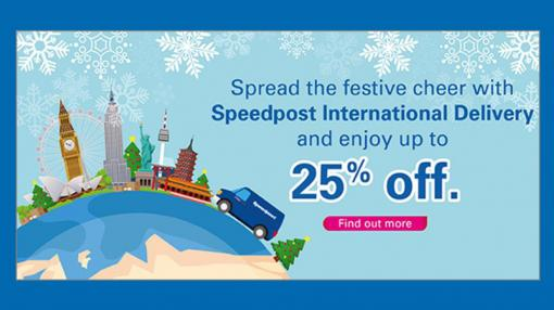Singapore Post - spread the festive cheer marketing campaign