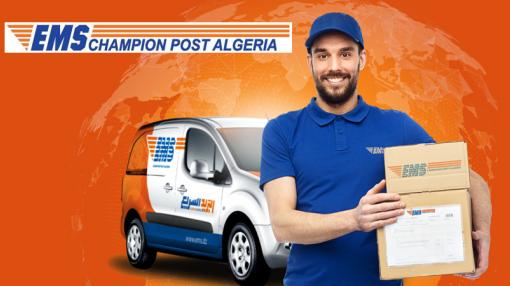 EMS Champion Post Algeria branding