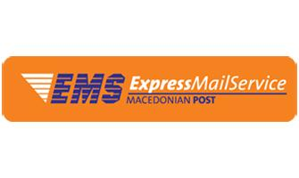 Macedonian Post EMS logo